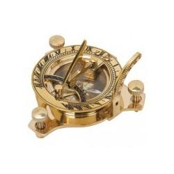 Brass Compass/Sundial