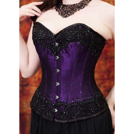 Beaded Steel Bones Corset