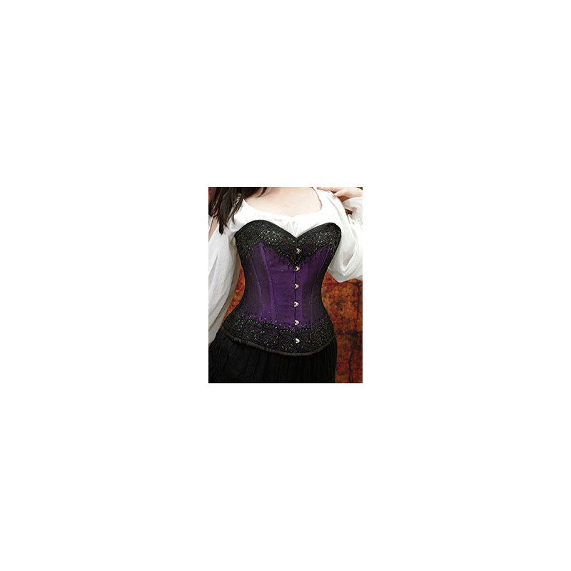 400466382d0 Beaded Steel Boned Corset - Bard and Broad Store