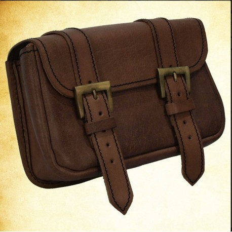 Double Buckle Pouch