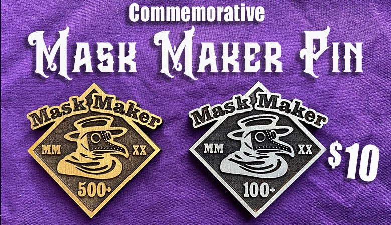Mask Maker Pins!