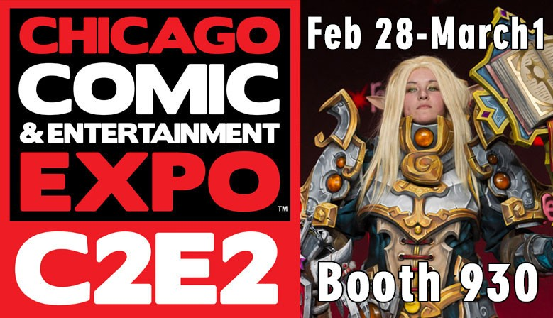 Come see us at C2E2!